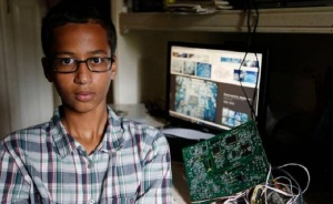 Ahmed and his terror clock