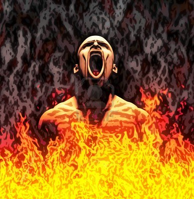 10751370-painted-illustration-of-a-screaming-man-in-flames